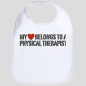 My Heart Physical Therapist Bib