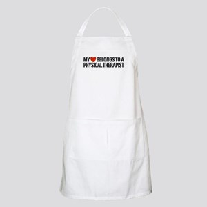 My Heart Physical Therapist Apron