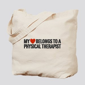My Heart Physical Therapist Tote Bag