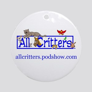 Home & Office LogoWear Ornament (Round)