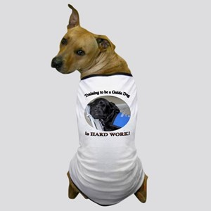 Training is Hard Work Dog T-Shirt