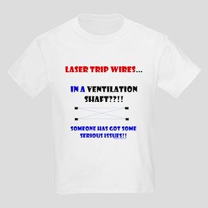 Laser Trip Wires?? 02 Kids Light T-Shirt