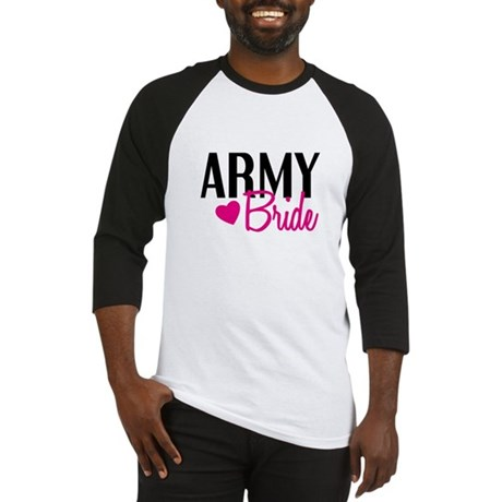 Army Bride Baseball Jersey