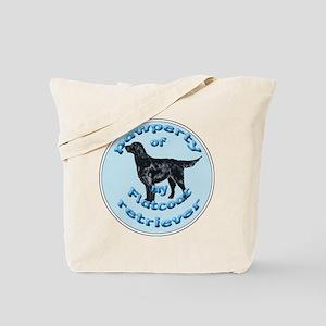 Flatcoated Retriever Pawperty Tote Bag