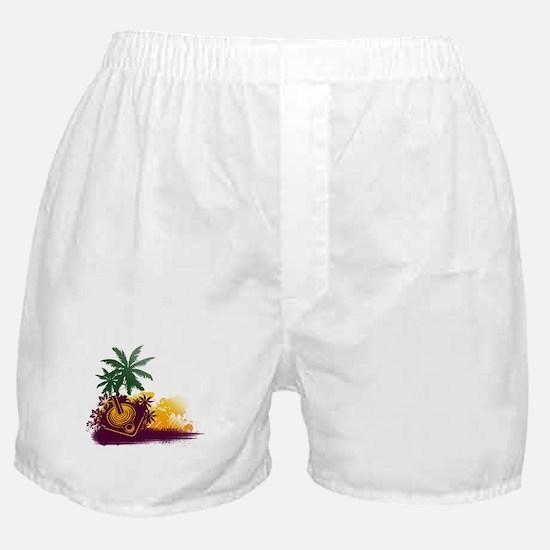 Summer Gaming Joystick Boxer Shorts