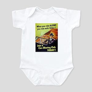 Riding With Hitler Infant Bodysuit