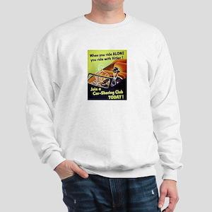 Riding With Hitler Sweatshirt