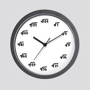 Square Root Wall Clock