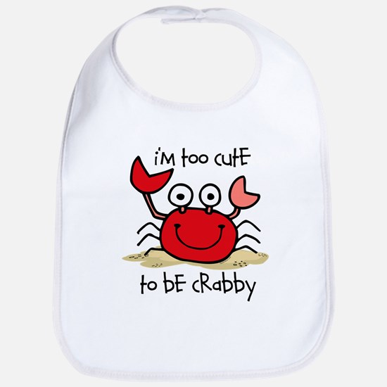 Too Cute Crab Bib