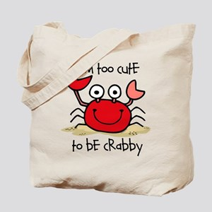 Too Cute Crab Tote Bag