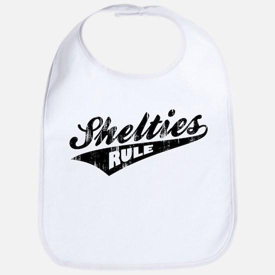 Shelties Rule Bib