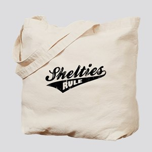 Shelties Rule Tote Bag