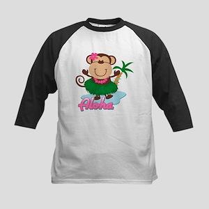 Aloha Monkey Kids Baseball Jersey