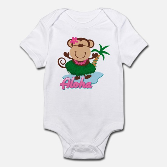 Aloha Monkey Infant Bodysuit