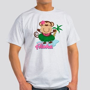 Aloha Monkey Light T-Shirt
