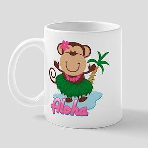 Aloha Monkey Mug