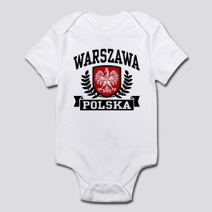 Warszawa Polska Infant Bodysuit