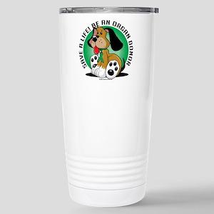 Organ Donor Dog Stainless Steel Travel Mug