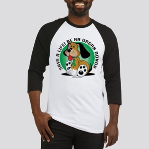 Organ Donor Dog Baseball Jersey
