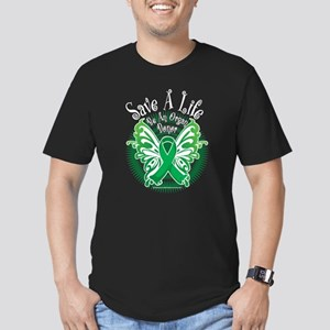 Organ Donor Save A Life Butte Men's Fitted T-Shirt