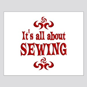 Sewing Small Poster