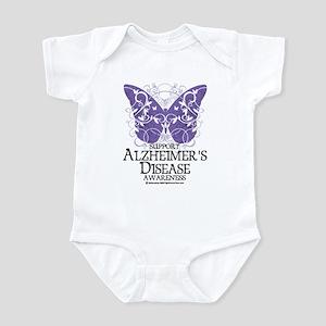 Alzhimers Butterfly 4 Infant Bodysuit