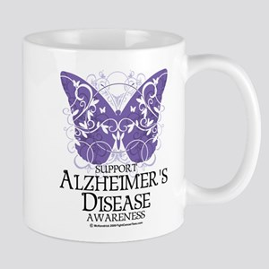 Alzhimers Butterfly 4 Mug