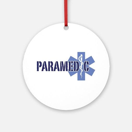 Paramedic Ornament (Round)
