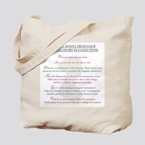 Steps for a Jane Austen Knock Tote Bag