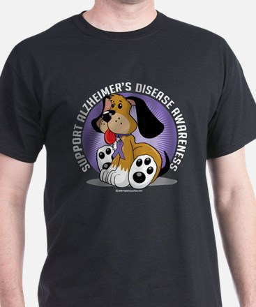 Alzheimers Dog T-Shirt