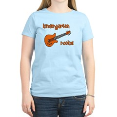 Kindergarten Rocks! (with Gui Women's Light T-Shir
