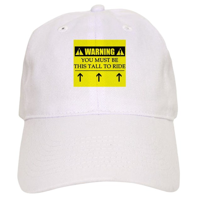WARNING  This Tall Baseball Cap by funnyvet d8a4b0f0fe6