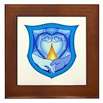 2 Souls 1 Heart Framed Tile