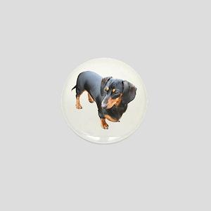 'Lily Dachshund Dog' Mini Button