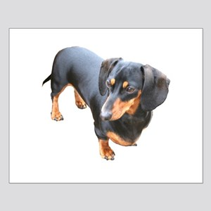 'Lily Dachshund Dog' Small Poster