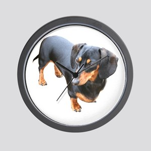 'Lily Dachshund Dog' Wall Clock