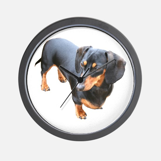 'Lily Dachshund Dog' Wall Clock
