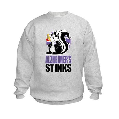 Alzheimers Stinks Kids Sweatshirt