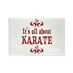 Karate Rectangle Magnet (100 pack)