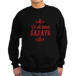 Karate Sweatshirt (dark)
