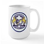 USS BRUMBY Large Mug