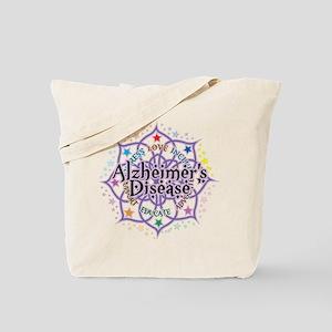 Alzheimers Lotus Tote Bag