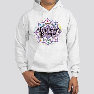 Alzheimers Lotus Hooded Sweatshirt
