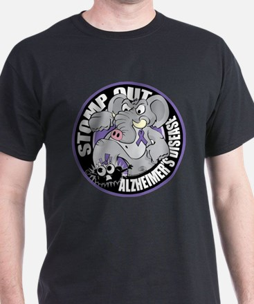 Stomp Out Alzhiemers T-Shirt