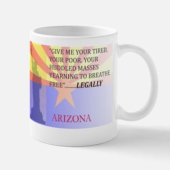 Pro Arizona with Statue Of Li Mug