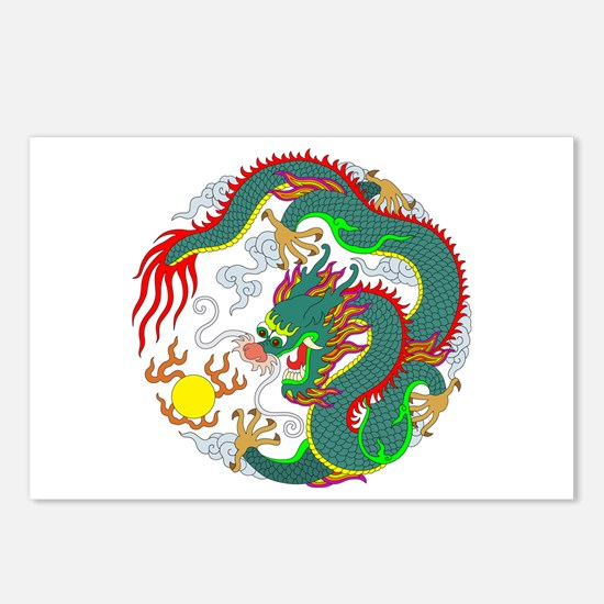 Dragon Tattoo 1 Postcards (Package of 8)