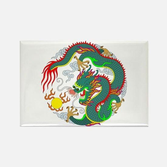 Dragon Tattoo 1 Rectangle Magnet