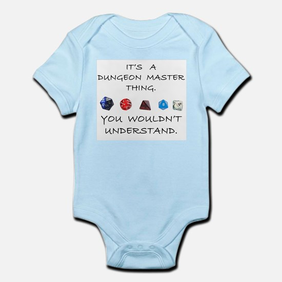 Dungeon Master Thing Infant Bodysuit