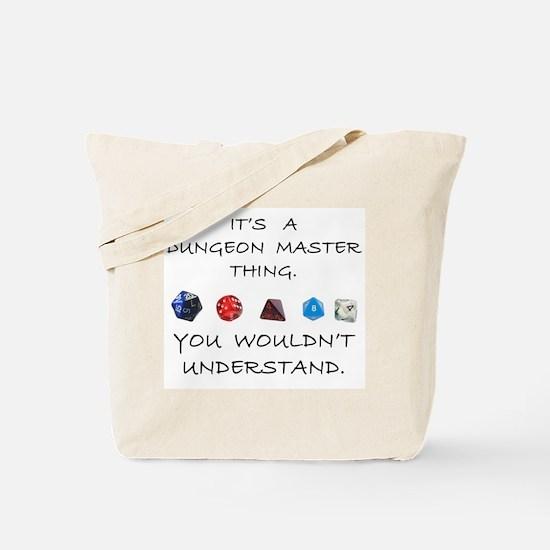Dungeon Master Thing Tote Bag