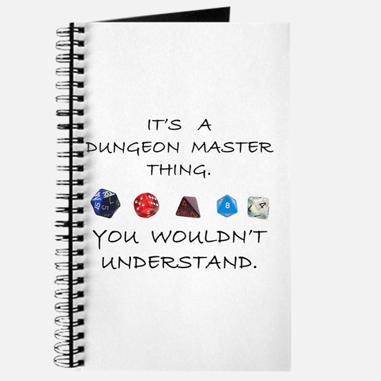 Dungeon Master Thing Journal